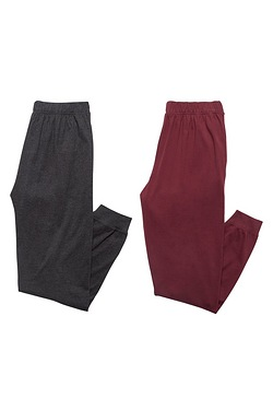 Pack Of 2 Jersey Lounge Pants - Cha...