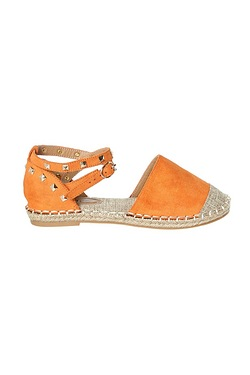 Be You Studded Ankle Strap Espadrille