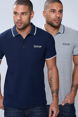 Firetrap Pack of 2 Polos