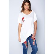 Be You Embroidered Skinny Jean