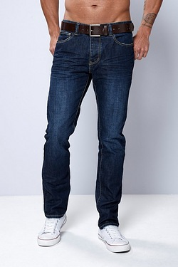 Firetrap Straight Fit Jean - Dark Wash