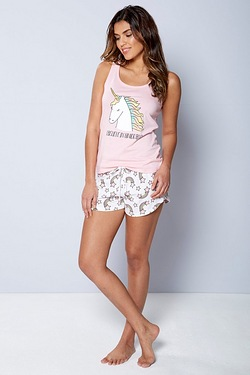 Nightwear Shortie Set
