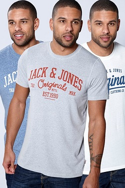 Jack and Jones Originals Pack Of 3 ...