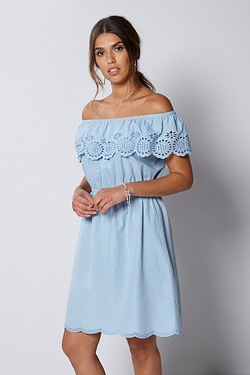 Be You Off The Shoulder Dress