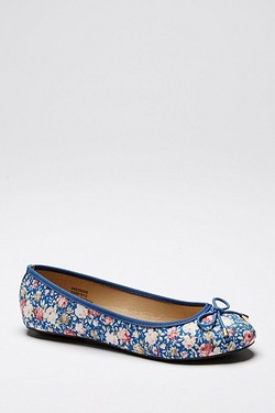 Be You Ballerina Shoe - Floral