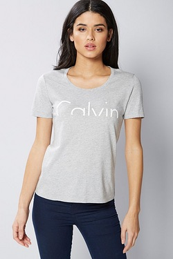 Calvin Klein Cut Off Logo T-Shirt