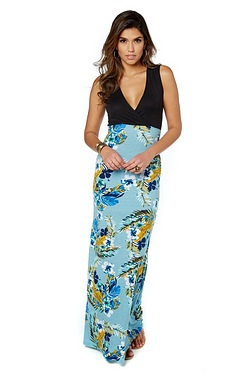 Be You Wrap Maxi Dress