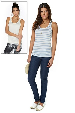Be You Pack Of 2 Longline Jersey Vests