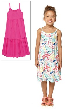 Girls Pack Of 2 Dresses