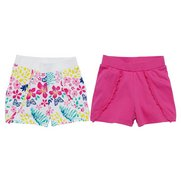 Girls Pack Of 2 Shorts