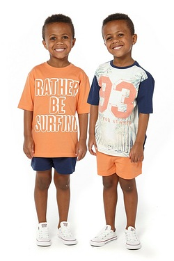 Boys Pack Of 2 T-Shirts - 93