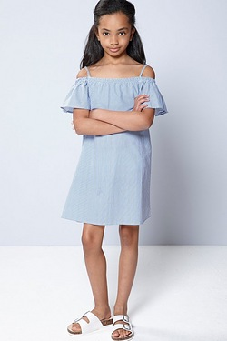 Girls Bardot Dress