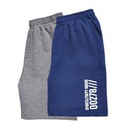 Boys Pack Of 2 Sweat Shorts