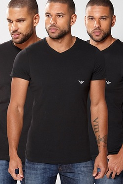 Emporio Armani Pack Of 3 T-Shirts