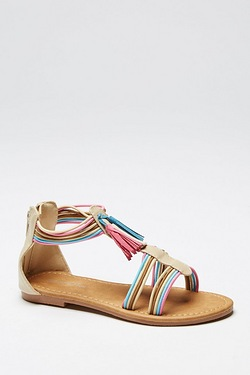 Girls Tassel Sandal