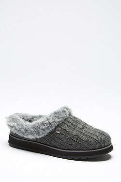 Skechers Keepsakes Cable Knit Slipper