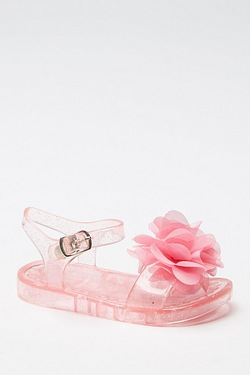 Girls Jelly Flat Sandal