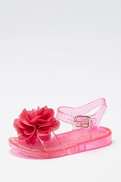 Girl's Jelly Flat Sandal
