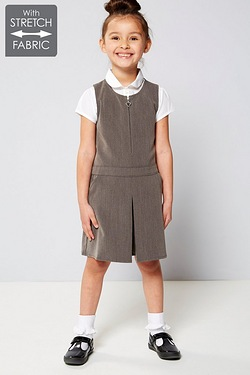 Girls Zip Through Playsuit