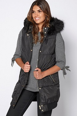 Be You Padded Gilet Coat
