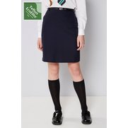 Girl's Pencil Skirt With Belt