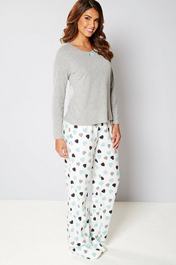 Pyjamas and Matching Slippers Gift Set