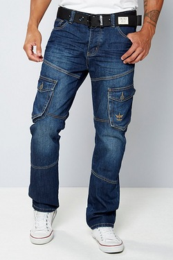 Firetrap Multipocket Jean