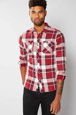 Firetrap Long Sleeve Check Shirt