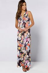 Be You Twist Front Maxi Dress