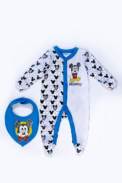 Baby's Sleepsuit Set - Baby Mickey