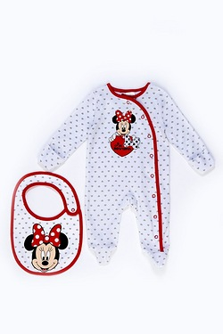 Baby's Sleepsuit Set - Baby Minnie