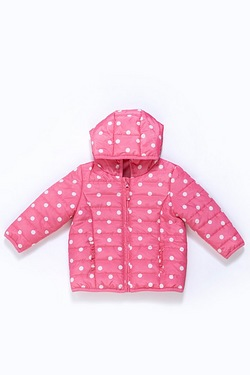 Baby Girl's Padded Coat