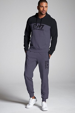 EA7 Colour Block Hoody