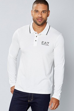 EA7 Long Sleeve Polo
