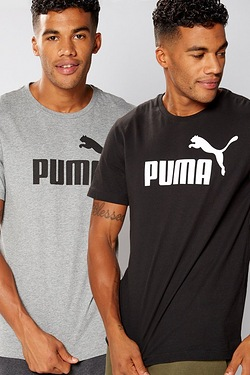 Puma Essential Pack of 2 T-shirts