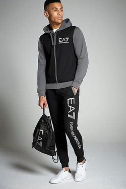 EA7 Colour Block Through Tracksuit