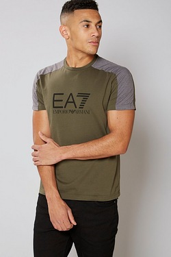 EA7 Colour Block T-Shirt