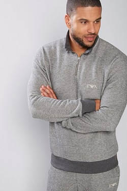 Emporio Armani 1/4 Zip Sweat