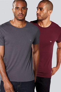 Emporio Armani Pack Of 2 T-Shirts
