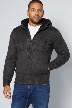 Dissisdent Lined Knit Sherpa