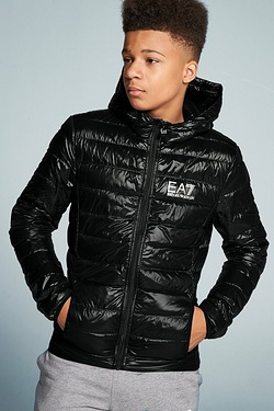 Boys EA7 Down Padded Jacket