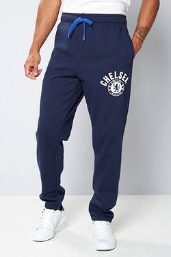 Mens Football Fleece Jogger - Chelsea