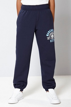 Boys Football Fleece Jogger - Man City