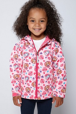 Girls Paw Patrol Soft Shell Jacket
