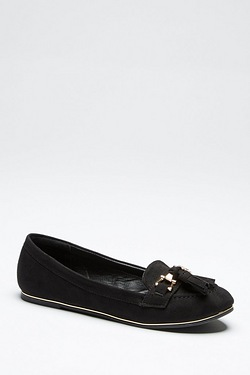 Be You Metallic Trim Loafer