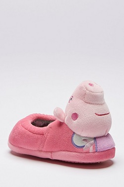 Girl's Peppa Pig 3D Slipper