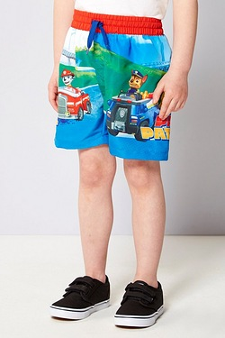 Boy's Paw Patrol Surf Short