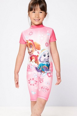 Girls Paw Patrol UV Swimsuit