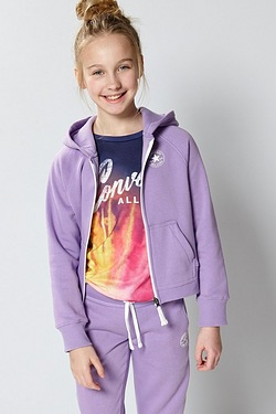 Girls Converse Core Hoody