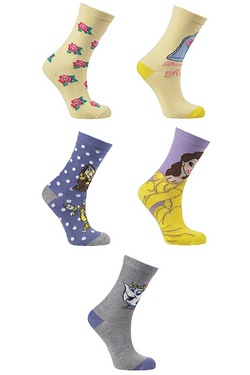 Pack Of 5 Socks - Belle